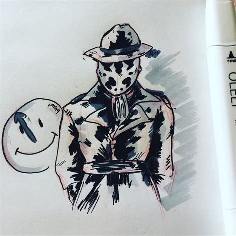Rorschach Doodle By Jenisnotcool On Deviantart