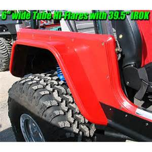 Jeep Yj With Fenders Genright Jeep Tj Lj Yj Cj 4 Quot Hi Fender Rear Steel Or Alum