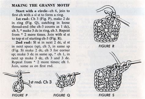 printable instructions on how to crochet a granny square things your grandmother knew make a granny square bag