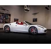 Ferrari 458 White  2020 Top Car Models