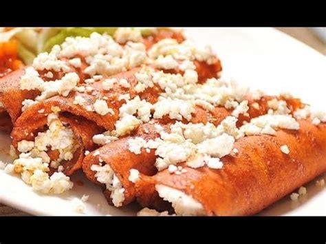 enchiladas rojas de queso receta de enchiladas de queso con salsa de hongos y chile