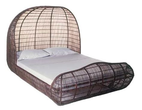 Wicker Bed Frames Wicker Bed Frames Grace Solid Oak Rattan Bed Frame