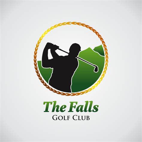 design a golf logo logo design contests 187 the falls golf club logo design