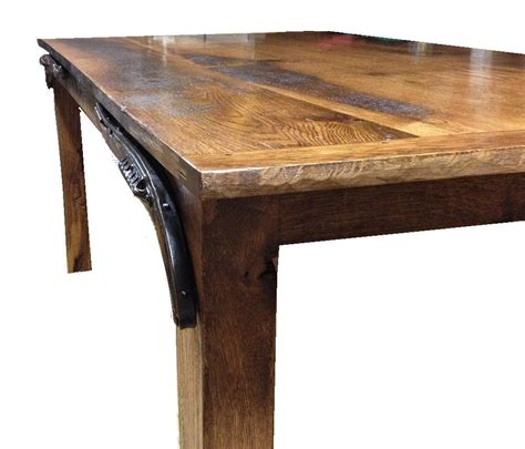 reclaimed barnwood dining table crafted reclaimed barnwood dining table by ney