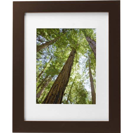 11 X 14 Frame With 8 X 10 Mat by Mainstays Museum 11 Quot X 14 Quot Matted To 8 Quot X 10 Quot Solid Wood