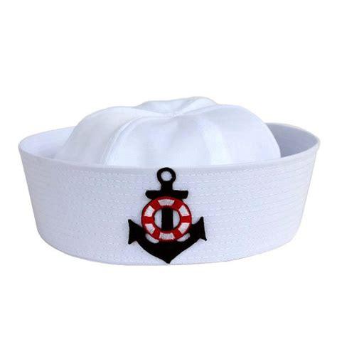 como hacer gorro de marinero imagui gorro de marinero blanco adulto disfraz sombrero algodon