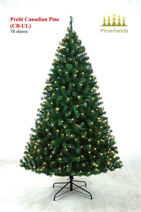 china christmas tree prelit canadian pine china