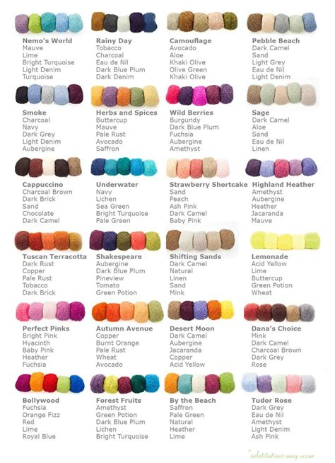 great color combinations 25 best ideas about yarn color combinations on