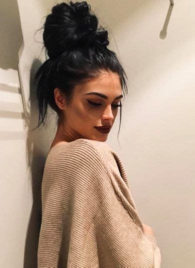 pics of black women pretty big hair buns with added hair 25 best ideas about messy bun outfit on pinterest black