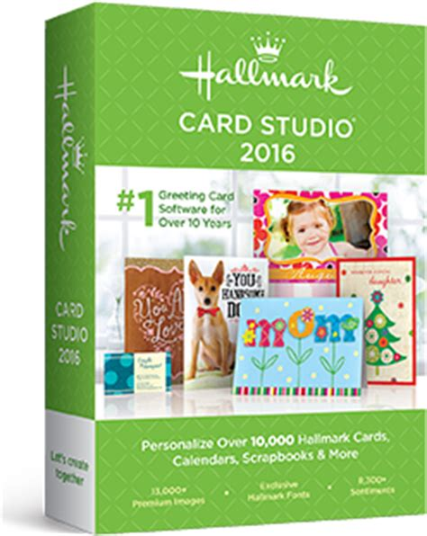 hallmark make your own card hallmark card studio 2016 greeting card software card