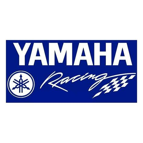 Aufkleber Yamaha Racing by Aufkleber 2 X Yamaha Logo Wandsticker Vinyl 10 Cm Auto