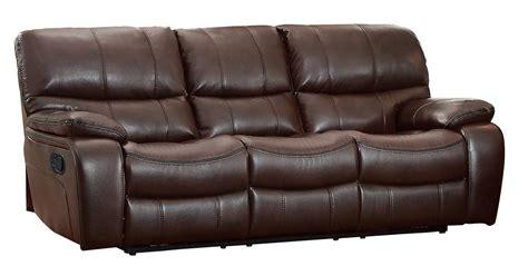homelegance reclining sofa reviews homelegance pecos reclining sofa leather gel