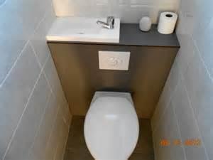 wc suspendu avec lave integre 6