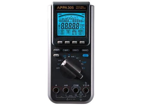 Multimeter Appa appa appa305 true rms digital multimeter appa 174 305