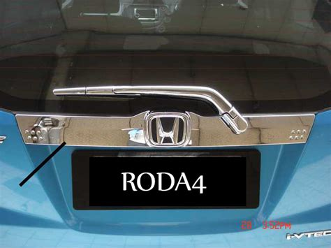 Jsl Trunk Lid Chrome Honda Freed List Bagasi Belakang Krom jual harga trunk lid list bagasi belakang new all new jazz chrome pinassotte