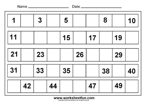 printable math numbers free printable kindergarten math worksheets chapter 1