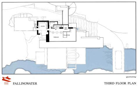 falling water house plan idesign architecture azuma house tadao ando