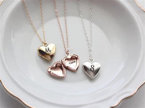 personalized locket personalized locket necklace