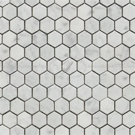 Black Marble Flooring by Carrara Hexagonal Marble Tile Seamless 14878