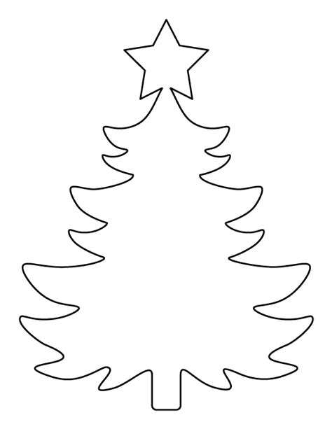 free printable christmas tree pin by muse printables on printable patterns at patternuniverse tree template