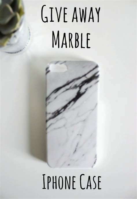 Iphone Case Giveaway - giveaway marble iphone case justkvn