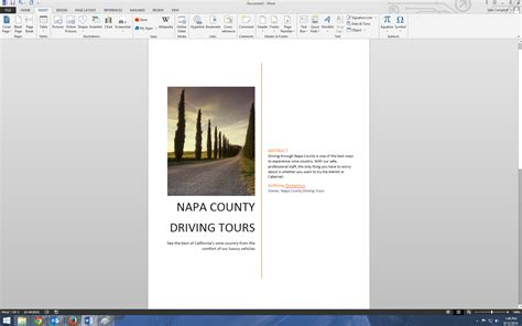 7 how to make cover page in ms word 2013 for design purpose youtube