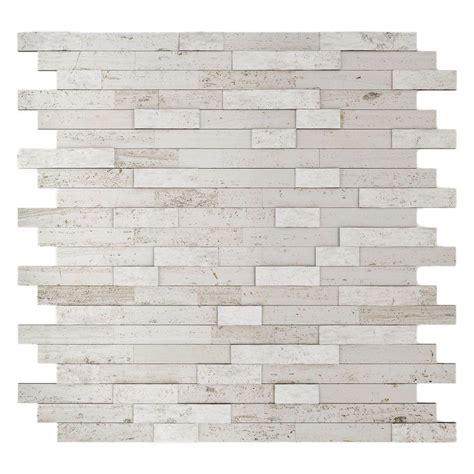 sticky back tile backsplash inoxia speedtiles himalayan 11 75 in x 11 6 in