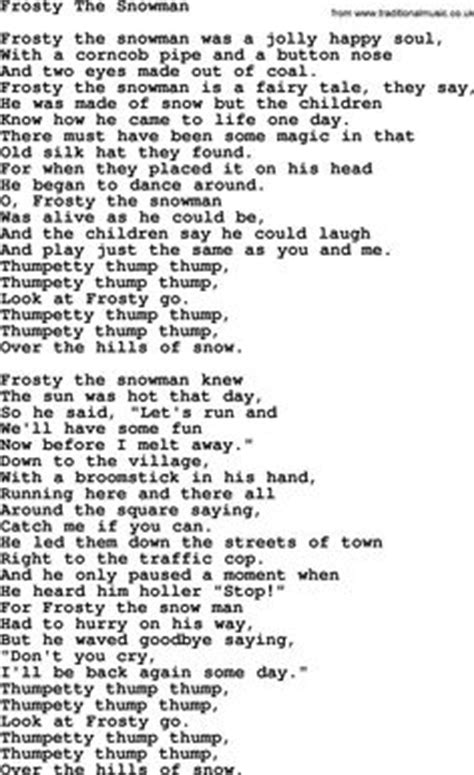frosty snowman lyrics printable version love lyrics for leave me alone i m lonely pink with chords