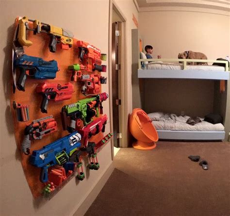 Nerf Bedroom Ideas by This I M Definitely Keeping This In Mind For