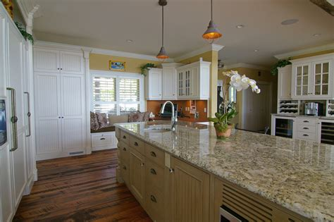 big kitchen island custom kitchen cabinetry big and beautiful also