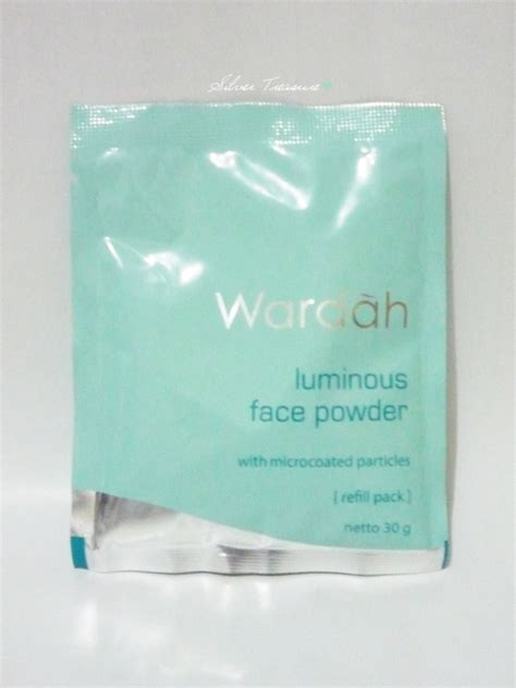 Bedak Wardah Luminous Powder 02 Beige wardah everyday luminous powder beige 02 silver
