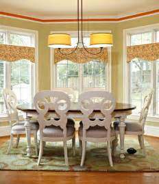 Dining Room Valance Custom Valance Cornice Top Treatments Barrington Lake Il Dining Room Valances Picture
