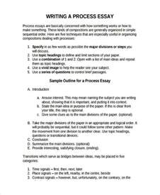 Processing Essay Exles by 26 Exles Of Essay Outlines