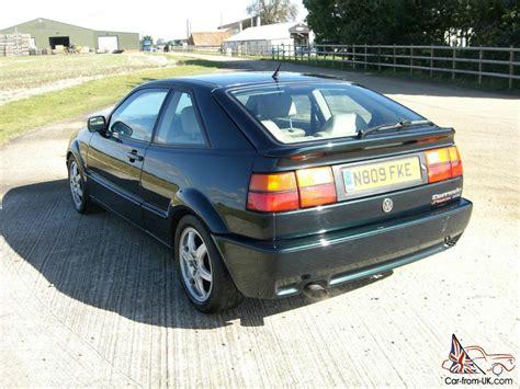 1995 volkswagen corrado 1995 vw corrado vr6 storm classic green 2 9l excellent