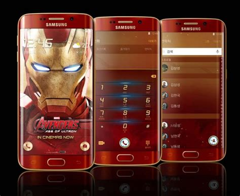 wallpaper galaxy s6 edge iron man the age of the iron man phone is upon us