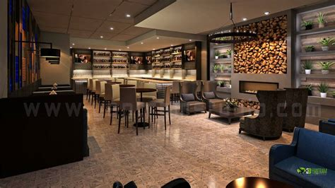 hi tops in memoriam chicago bar project night view 3d bar interior design for modern stlyle