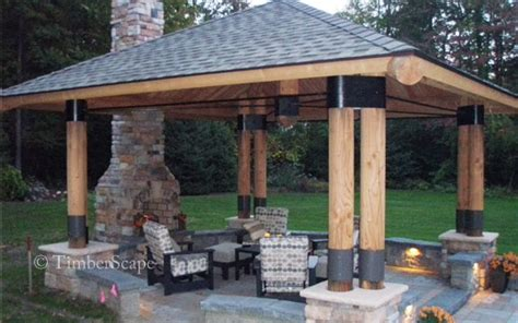 Outdoor Kitchen Design Plans Photo Gallery Bungalow Exterior Gazebo Picture 5