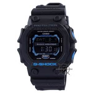 G Shock Black Blue Murah harga sarap jam tangan g shock gxw 56e 1 black blue