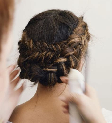 Wedding Hairstyles For Medium Brown Hair by Braided Wedding Hair 16 Looks To Consider For The Big Day