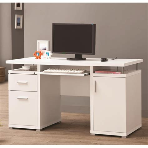 desks home office white computer desk co 800108