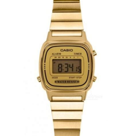 Casio Standard La 670wga 9 casio la670wga 9df classic digital golden without