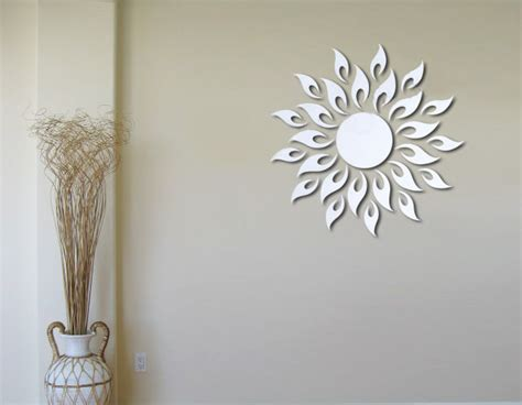 bathroom wall decorations sunburst wall decor