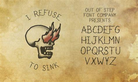 i refuse to sink font dafont com
