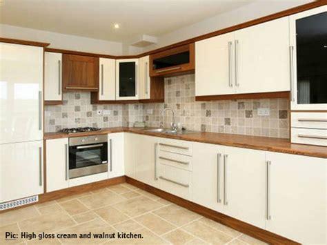 cream gloss kitchen cabinets kitchens on pinterest cream kitchens cream gloss