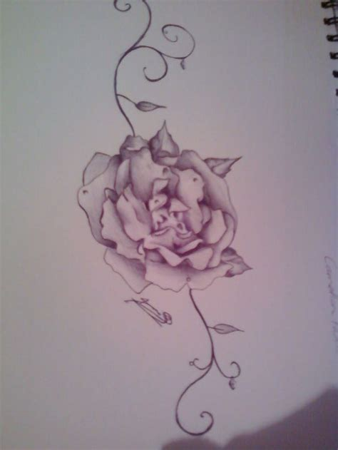 pink carnation tattoo design deviantart more like cloud thingy blob by