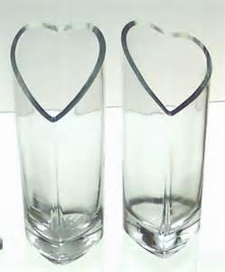 Glass Heart Vase Sell Glass Vase Heart Shaped Glassware