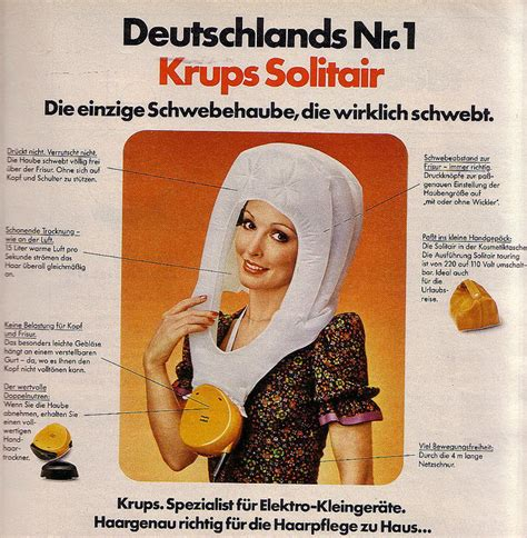 Hair Dryer German all the ways we our hair vintage history of the