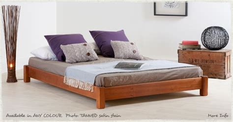 Low Bed Frames Wood Low Platform Bed