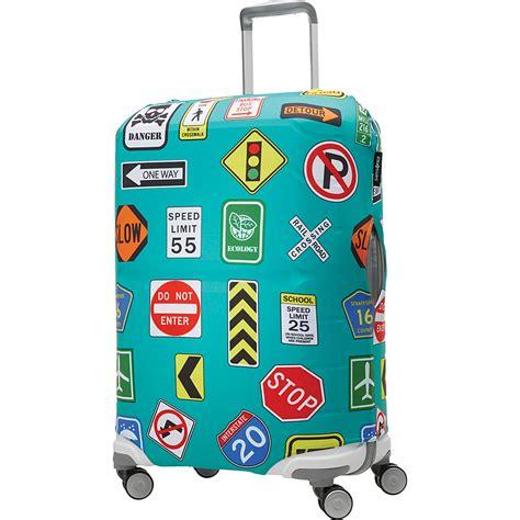 samsonite travel accessories printed luggage cover luggage