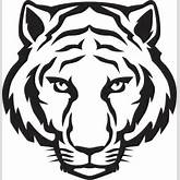 Tiger Eyes Black And White | Clipart Panda - Free Clipart Images